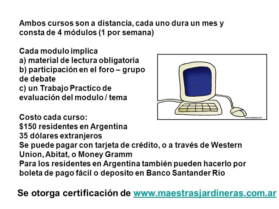 Se otorga certificación de www.maestrasjardineras.com.ar