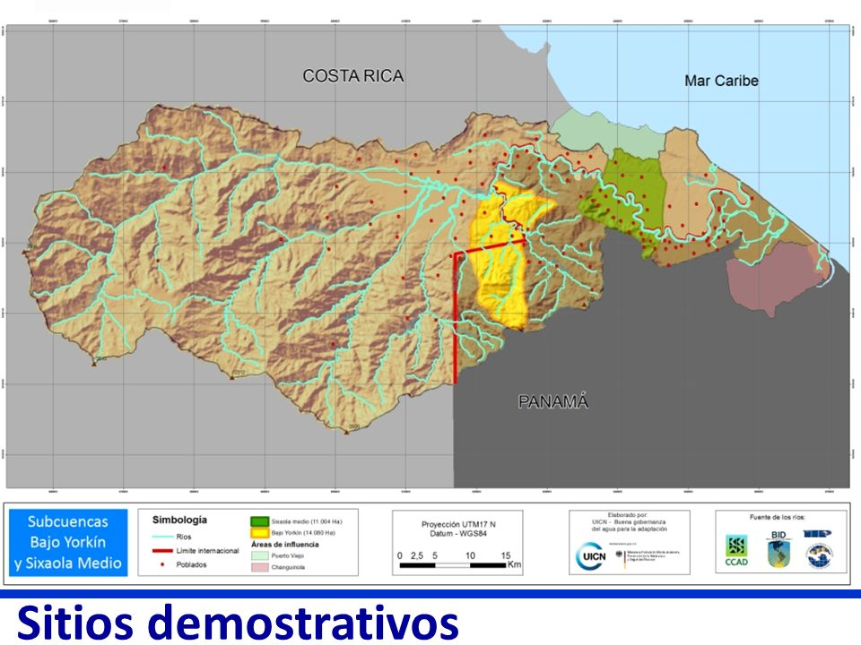 Sitios demostrativos