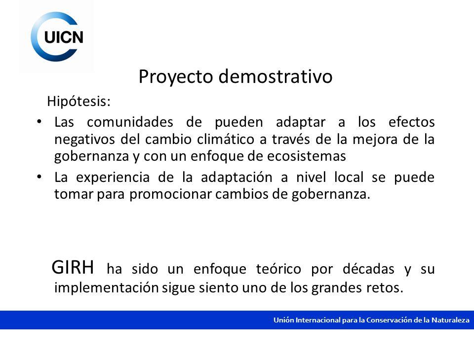 Proyecto demostrativo
