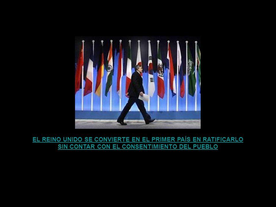 EL REINO UNIDO SE CONVIERTE EN EL PRIMER PAÍS EN RATIFICARLO