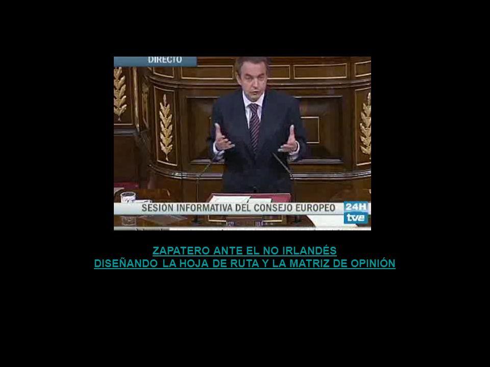 ZAPATERO ANTE EL NO IRLANDÉS