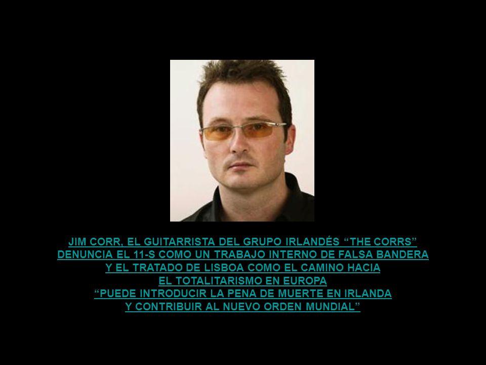 JIM CORR, EL GUITARRISTA DEL GRUPO IRLANDÉS THE CORRS
