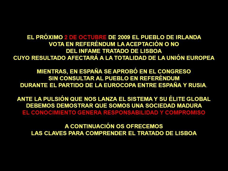 EL PRÓXIMO 2 DE OCTUBRE DE 2009 EL PUEBLO DE IRLANDA