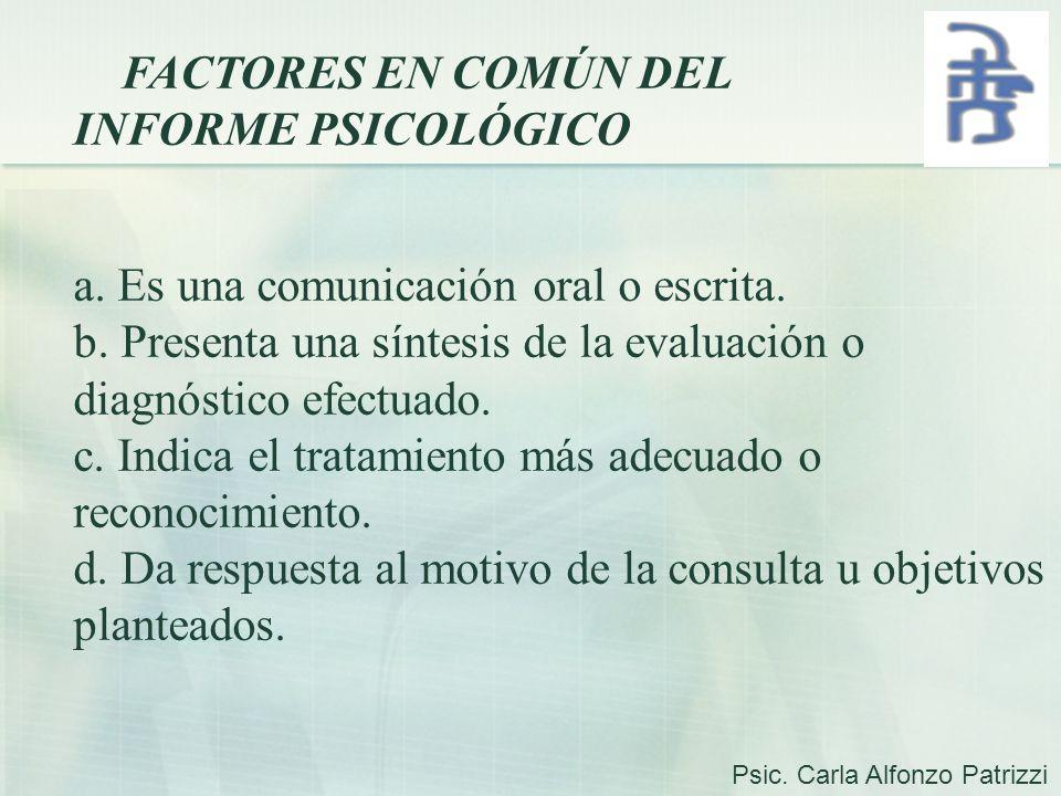 a. Es una comunicación oral o escrita.
