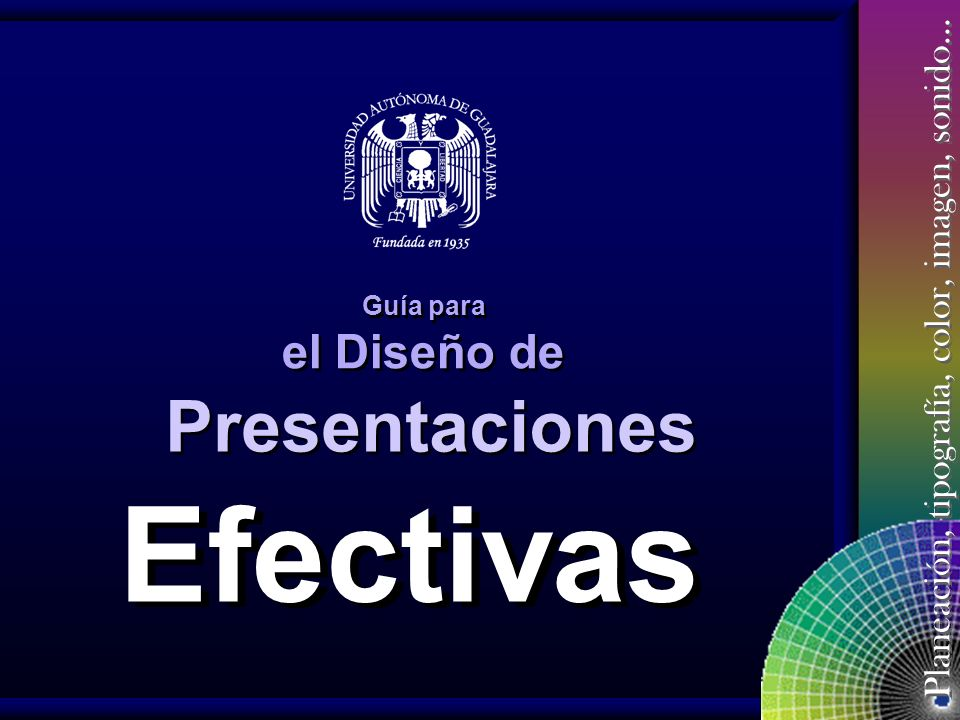 Presentaciones Guía para el Diseño de Efectivas