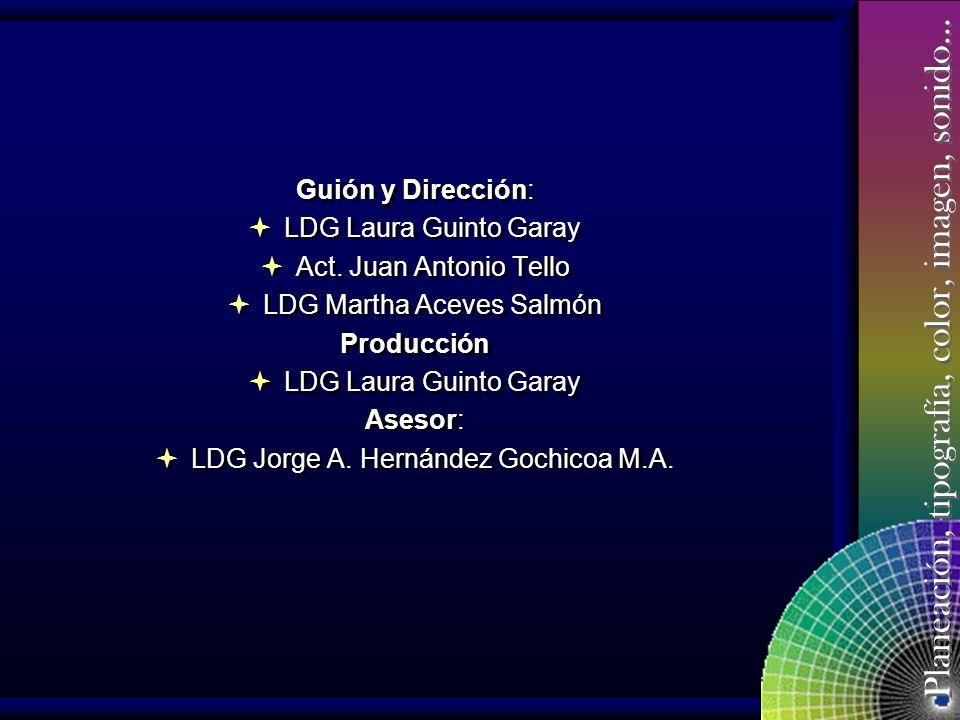 LDG Martha Aceves Salmón Producción Asesor: