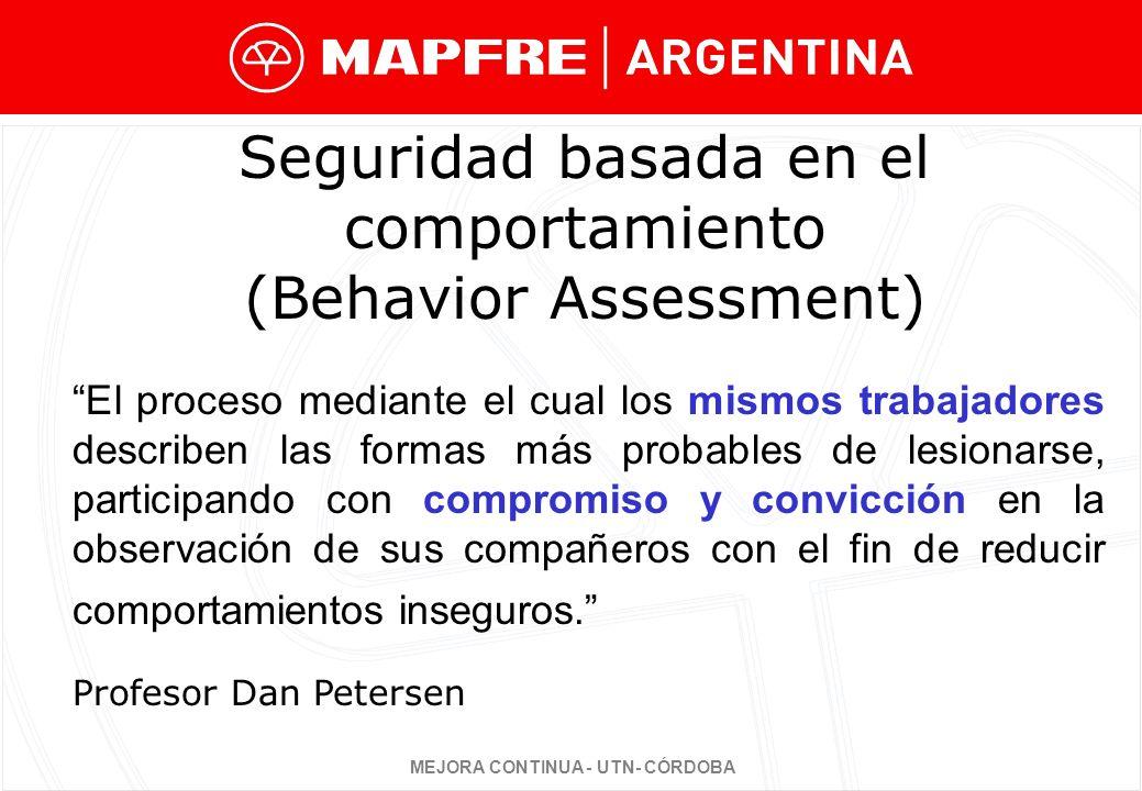 Seguridad basada en el comportamiento (Behavior Assessment)