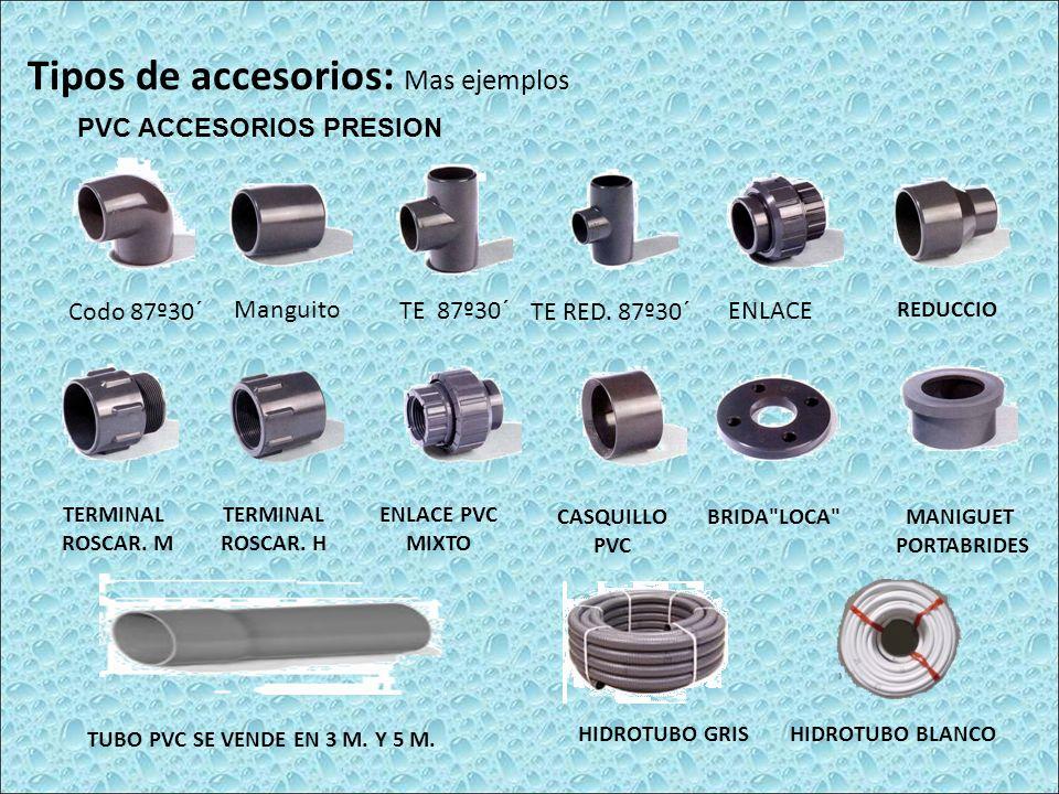 PVC ACCESORIOS PRESION