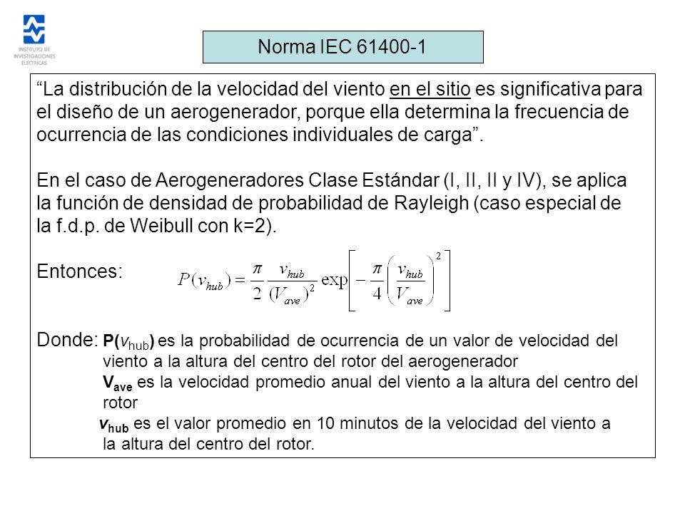 el diseño de un aerogenerador, porque ella determina la frecuencia de
