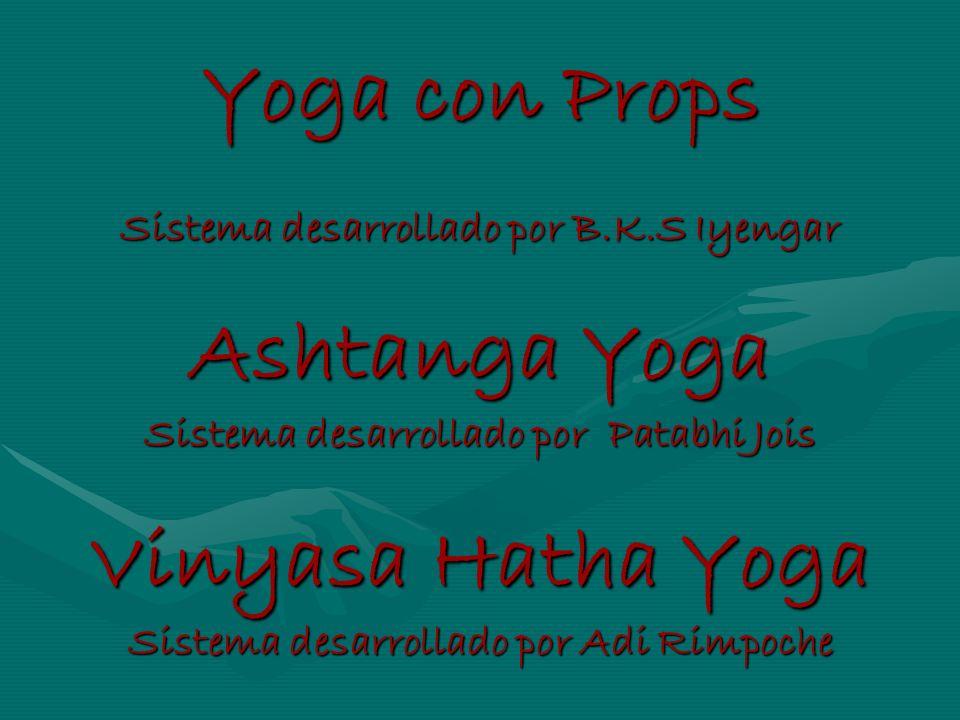 Yoga con Props Ashtanga Yoga Vinyasa Hatha Yoga