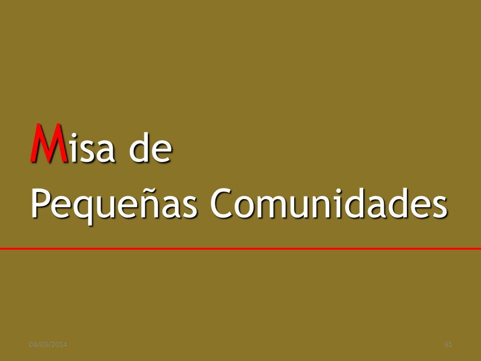 Misa de Pequeñas Comunidades 29/03/2017 61