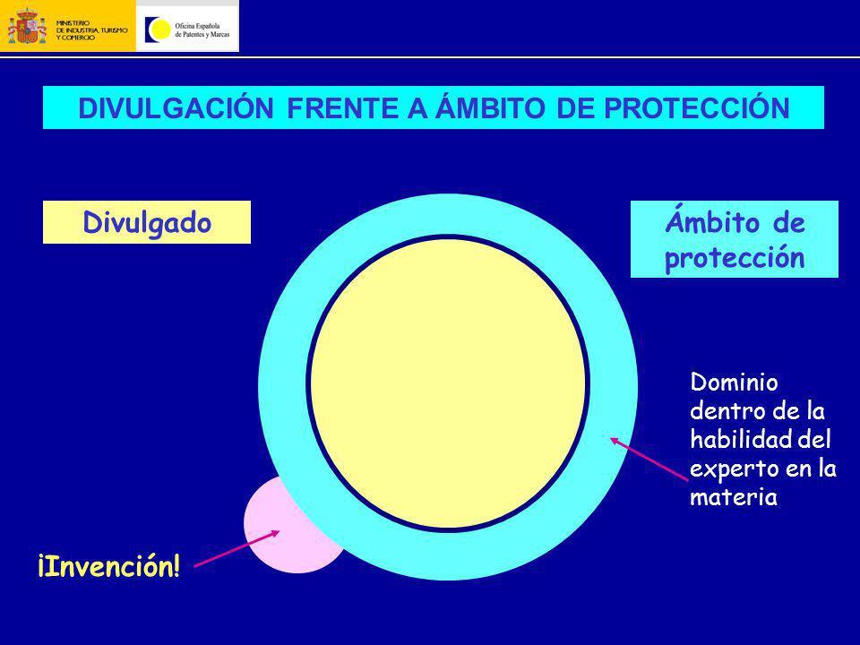 DIVULGACIÓN FRENTE A ÁMBITO DE PROTECCIÓN