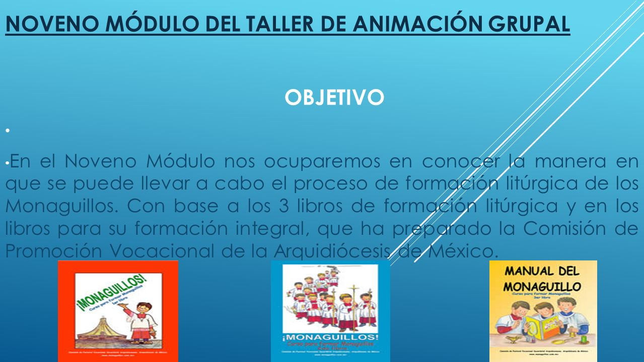 Noveno Módulo del Taller de Animación Grupal