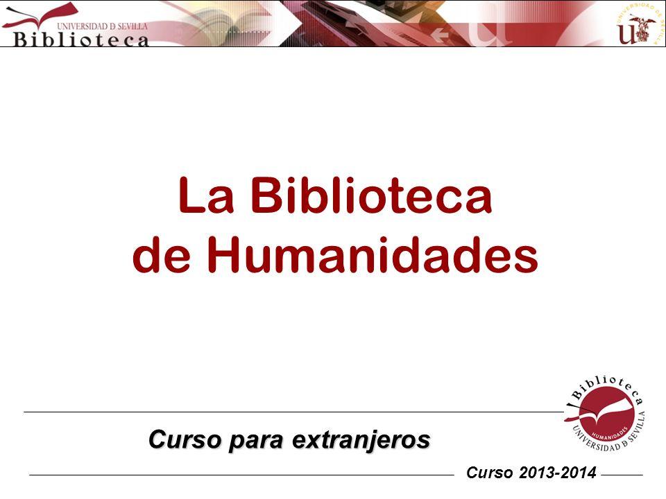 La Biblioteca de Humanidades