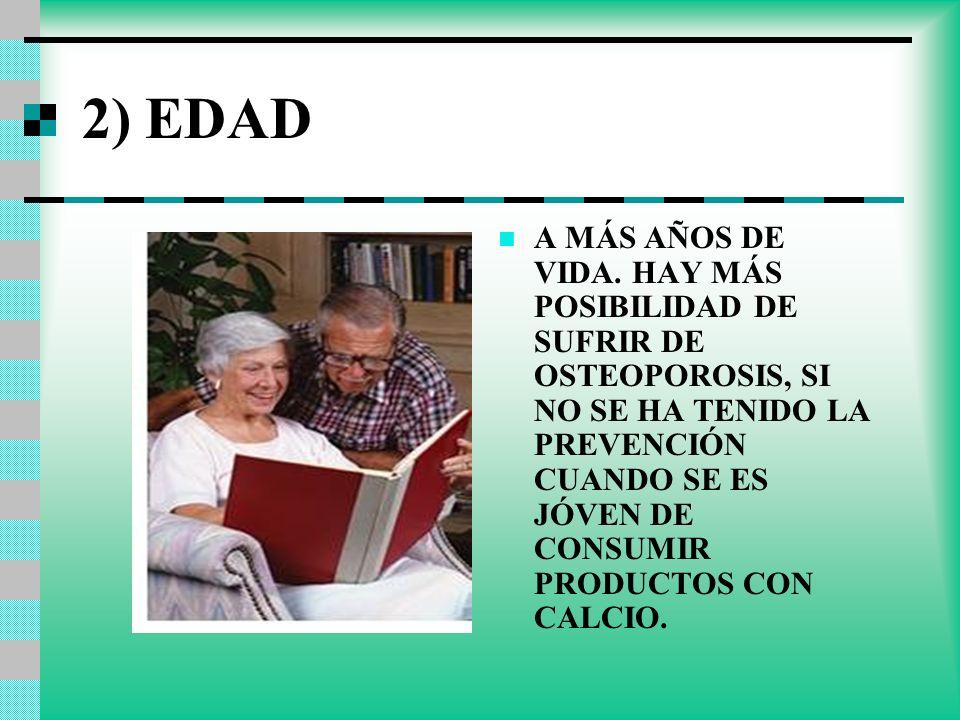 2) EDAD