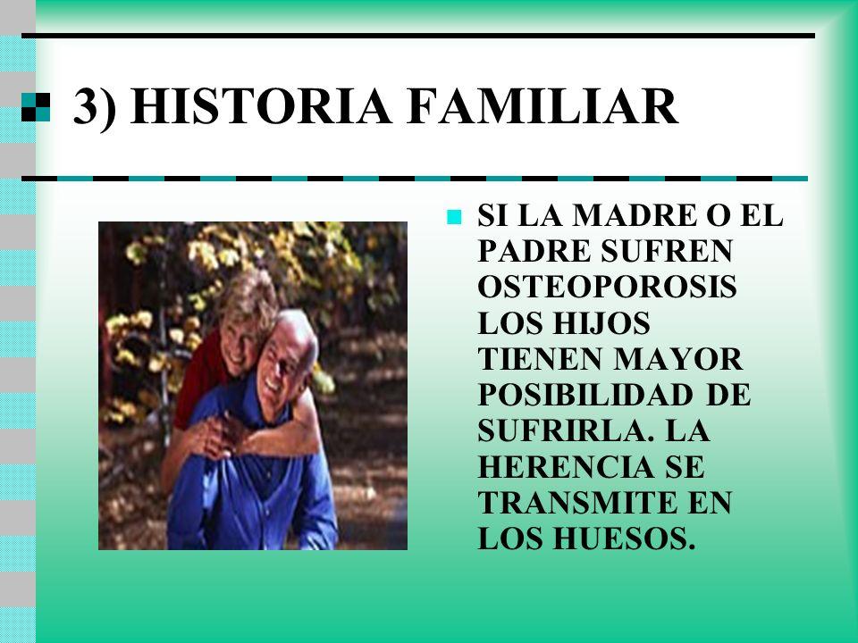 3) HISTORIA FAMILIAR