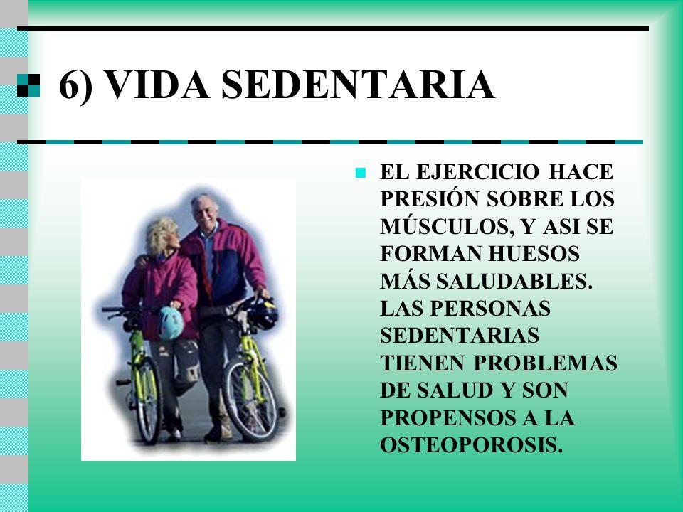 6) VIDA SEDENTARIA