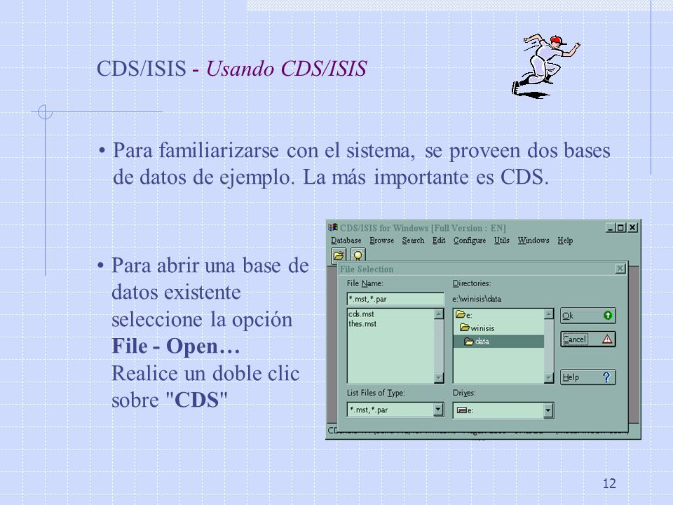 CDS/ISIS - Usando CDS/ISIS