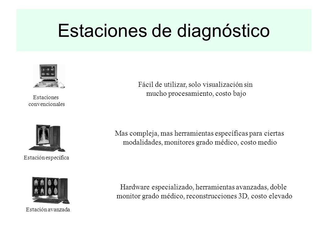 Estaciones de diagnóstico