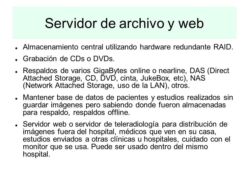 Servidor de archivo y web