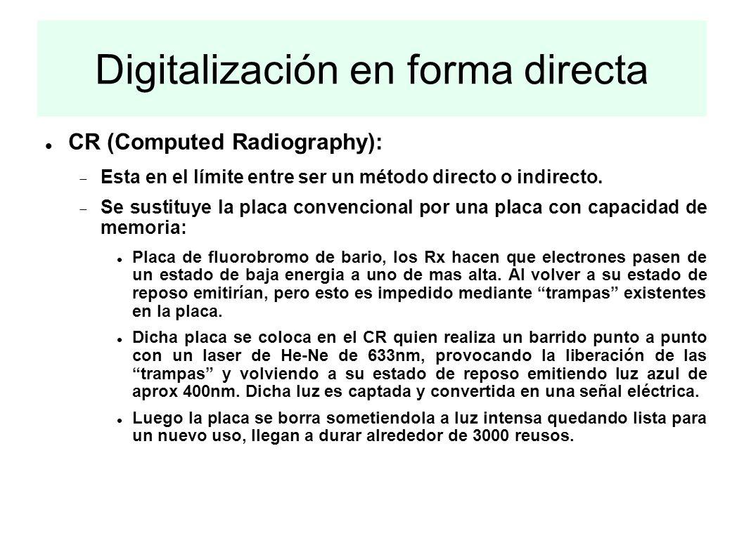Digitalización en forma directa