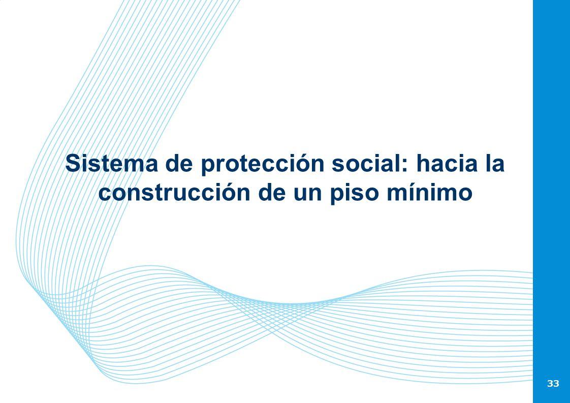 Sistema de protección social: hacia la construcción de un piso mínimo