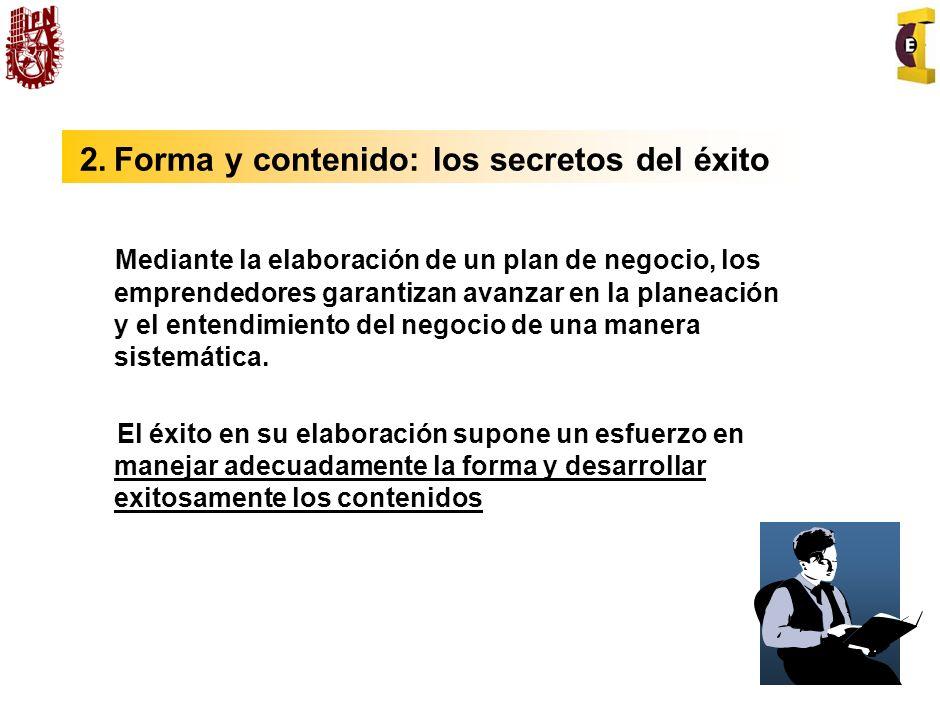 2. Forma y contenido: los secretos del éxito