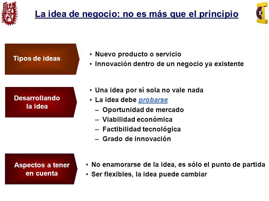 La idea de negocio: no es más que el principio