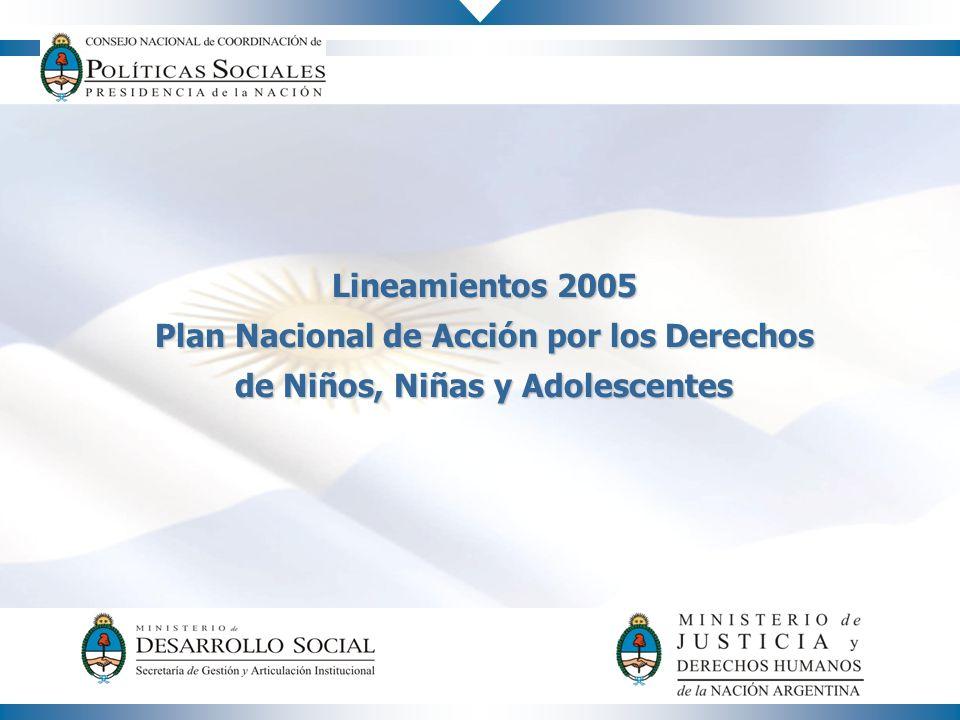 Plan Nacional de Acción por los Derechos