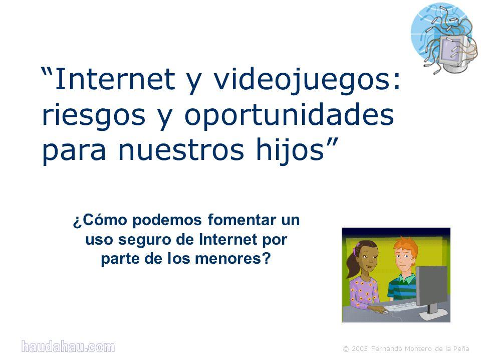 Internet y videojuegos: riesgos y oportunidades para nuestros hijos