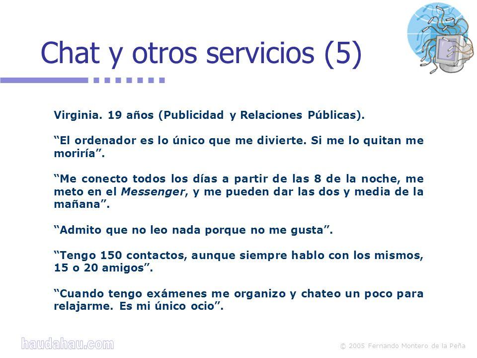 Chat y otros servicios (5)