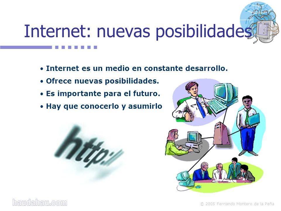 Internet: nuevas posibilidades