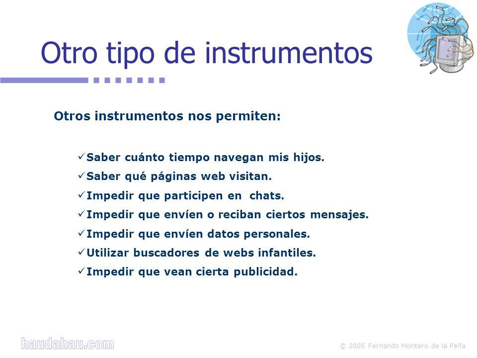 Otro tipo de instrumentos