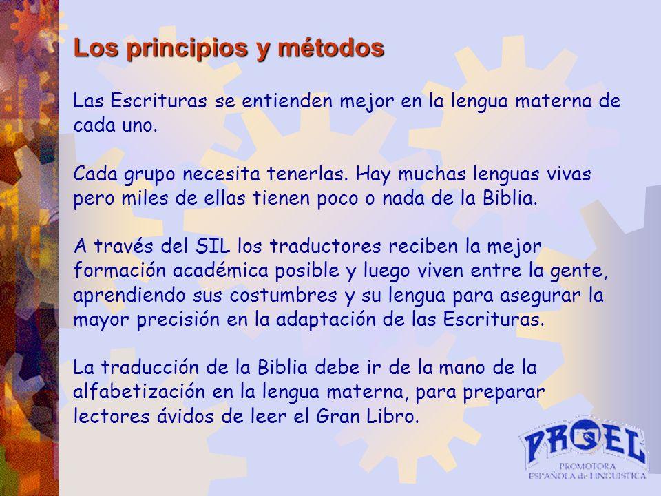Los principios y métodos