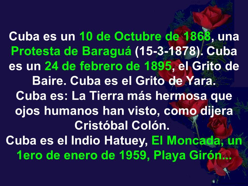 Cuba es un 10 de Octubre de 1868, una Protesta de Baraguá (15-3-1878)