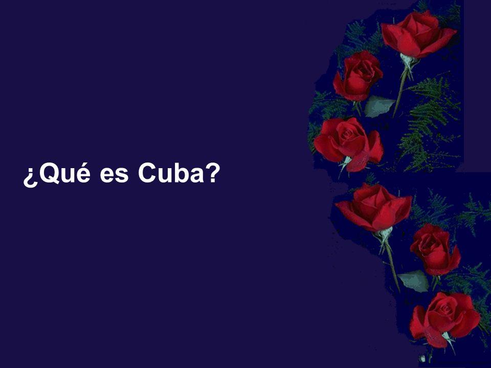 ¿Qué es Cuba