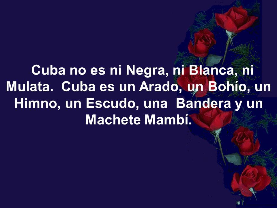 Cuba no es ni Negra, ni Blanca, ni Mulata