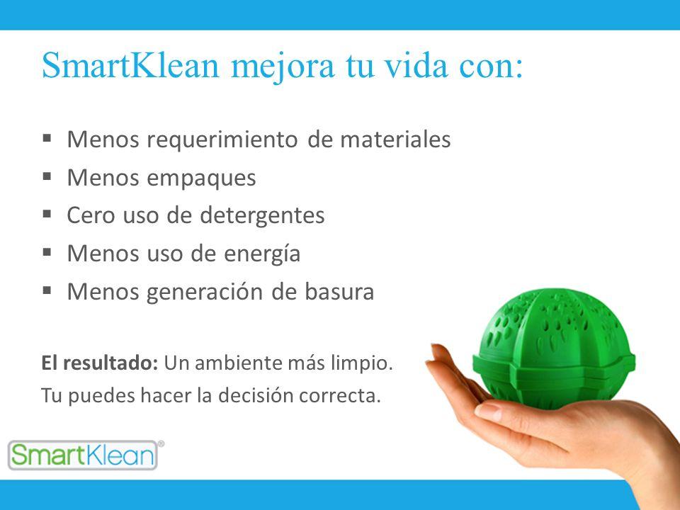 SmartKlean mejora tu vida con: