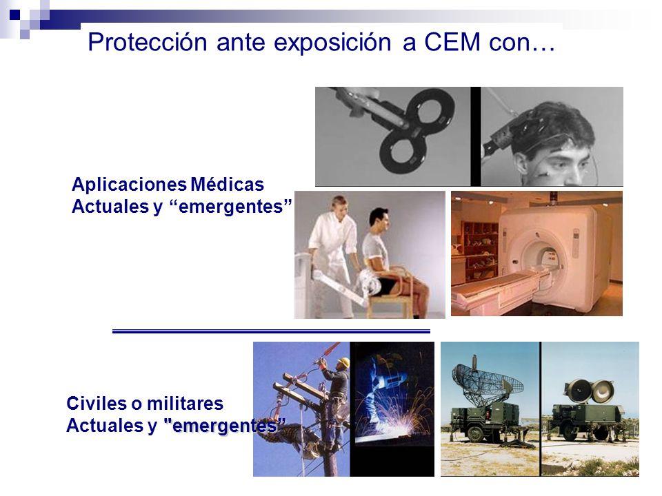 Protección ante exposición a CEM con…