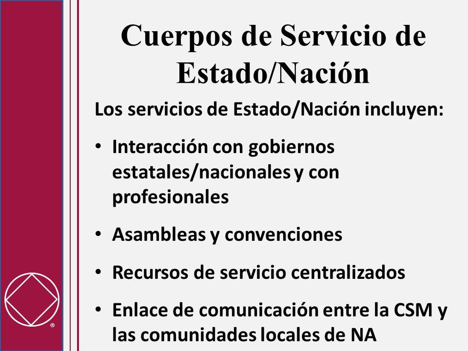 Cuerpos de Servicio de Estado/Nación