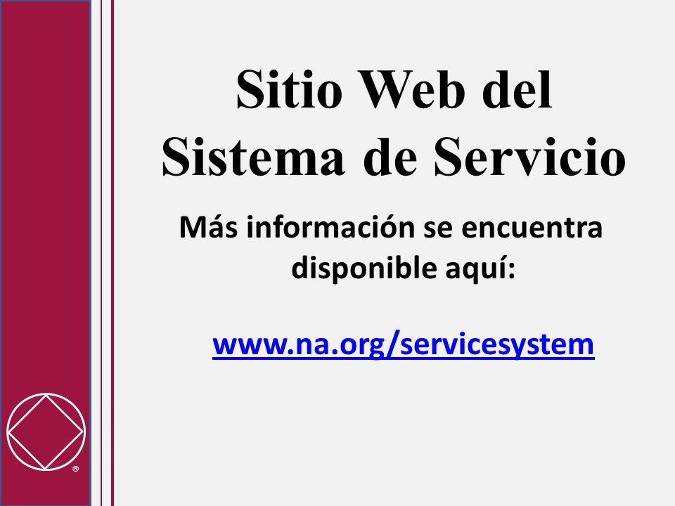 Sitio Web del Sistema de Servicio