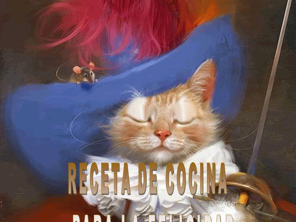 RECETA DE COCINA PARA LA FELICIDAD