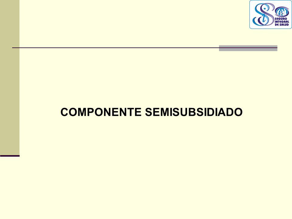 COMPONENTE SEMISUBSIDIADO