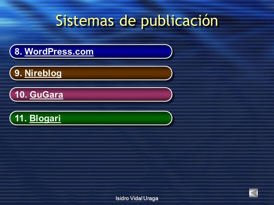 Sistemas de publicación