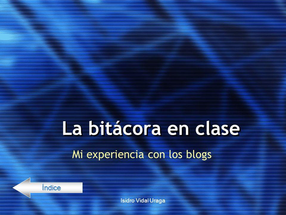 Mi experiencia con los blogs