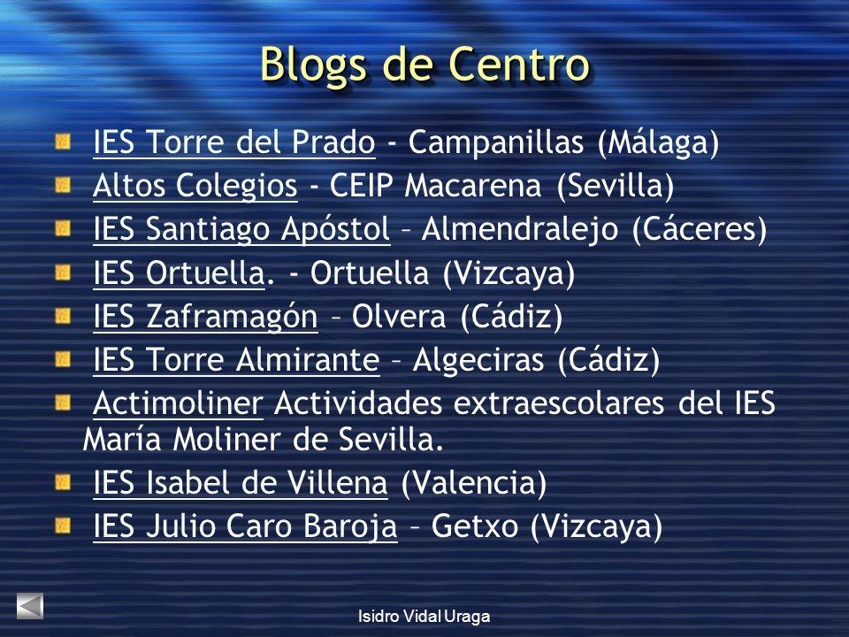 Blogs de Centro IES Torre del Prado - Campanillas (Málaga)