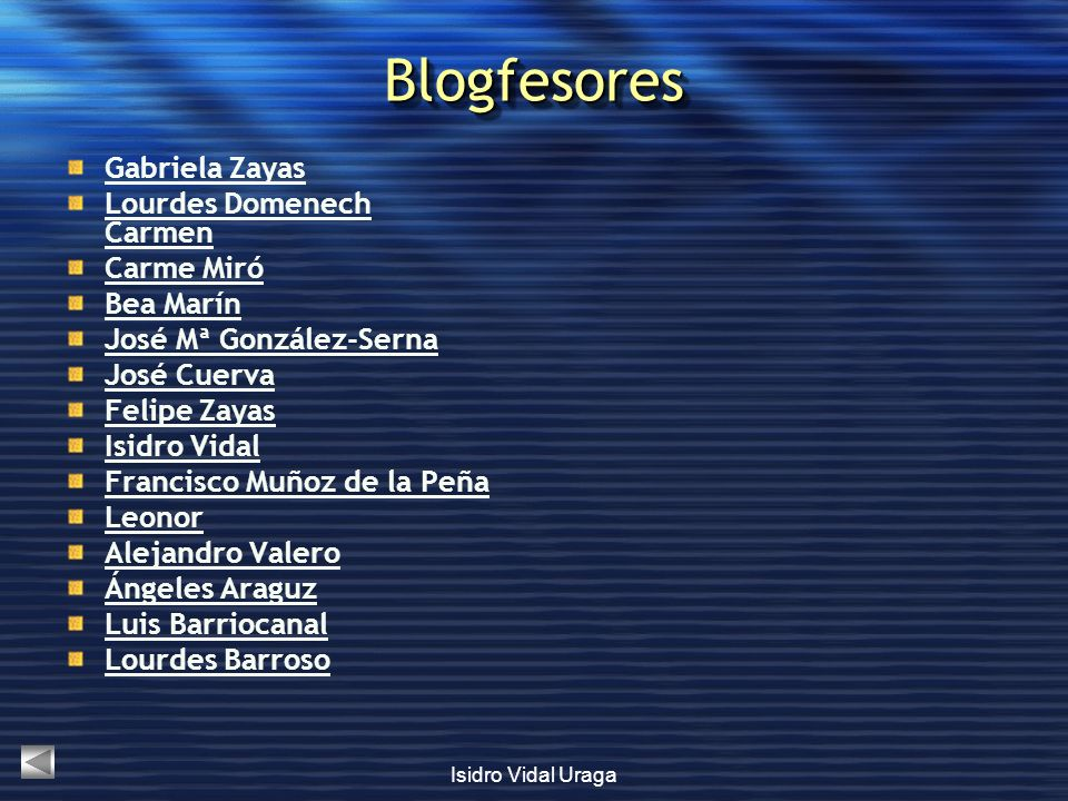 Blogfesores Gabriela Zayas Lourdes Domenech Carmen Carme Miró