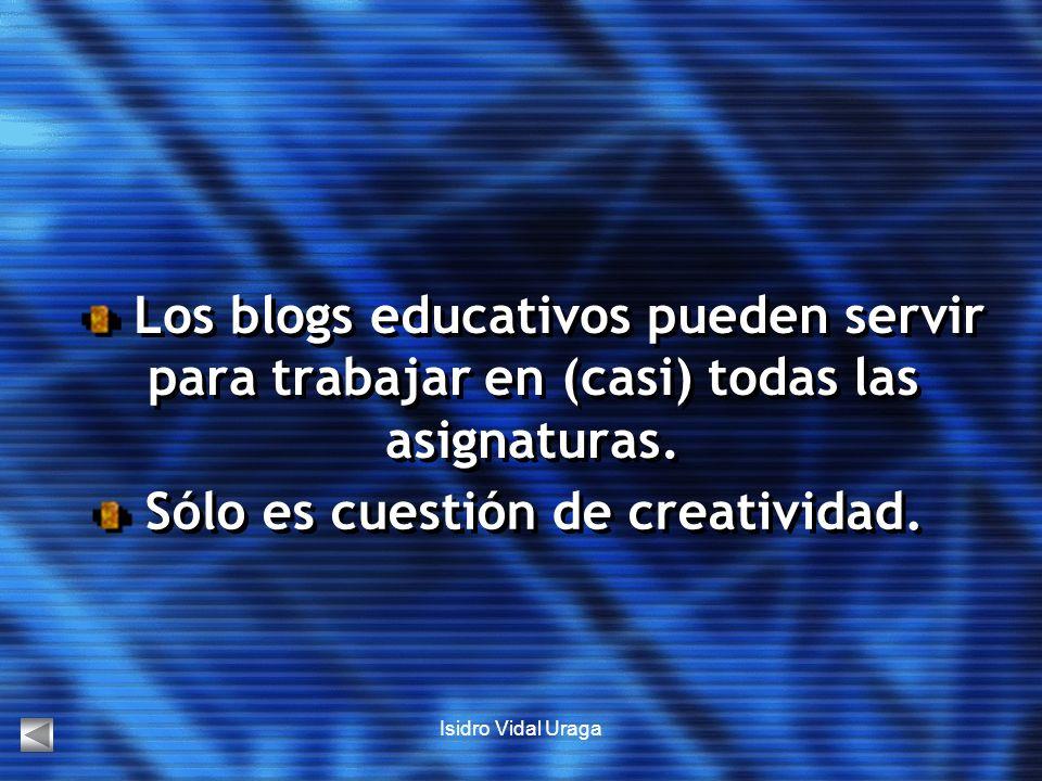 Sólo es cuestión de creatividad.