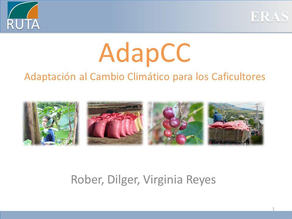 AdapCC Adaptación al Cambio Climático para los Caficultores