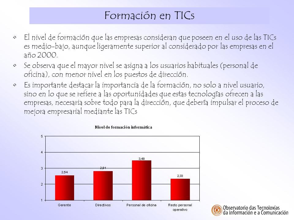 Formación en TICs